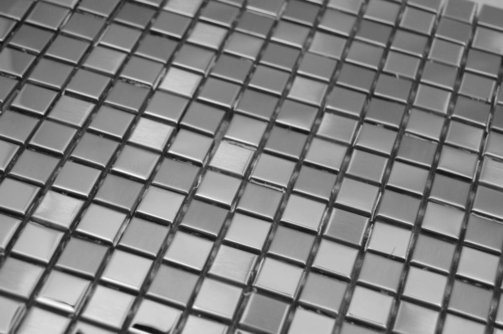 zoom steel silver scaled sur VotreCarrelage.com
