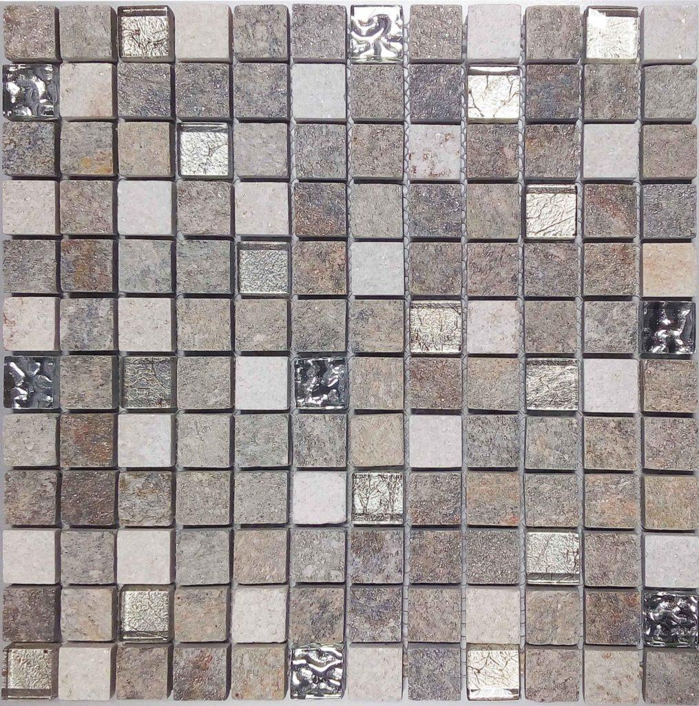 Mosaïque effet pierre URALES 30x30