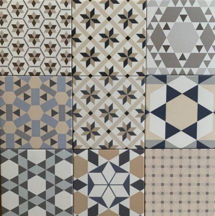 Carreaux de ciment BISTRO décors 20x20
