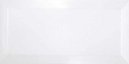 CARREAUX METRO MAT NOIR & BLANC 7.5x15