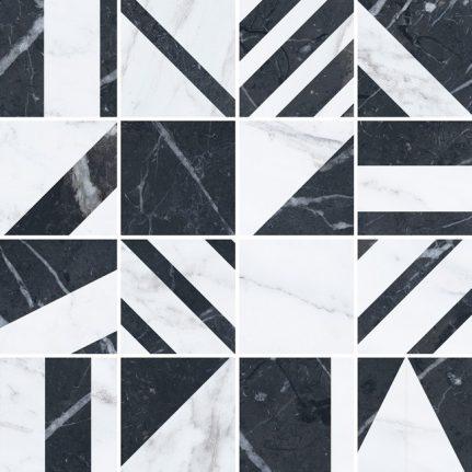 Velvet mosaic 30x30