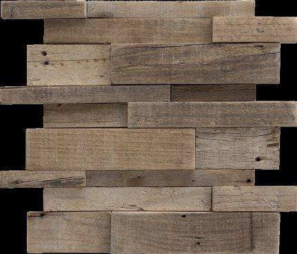 Mosaïque bois WOOD3D 30x30