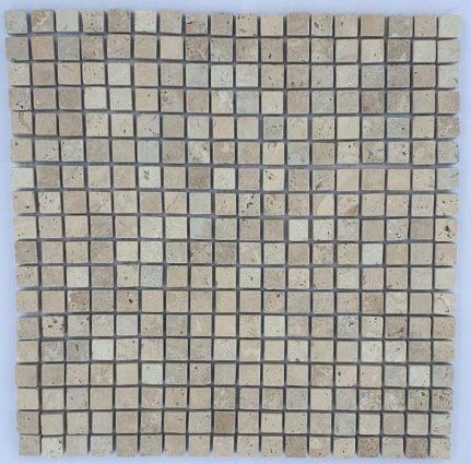 MOSAIQUE TRAVERTIN CLASSIC 1,5 x 1,5 cm