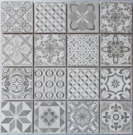Mosaïque grès cérame ANTIC 29x29