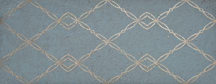 Carrelage mural uni GOLDSTONE BLUE 35x90