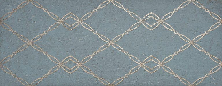 GOLDSTONE TEAL BLUE 35x90