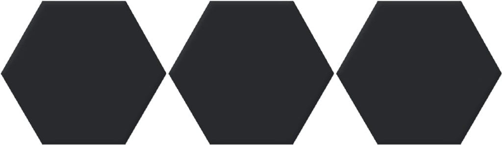 Carrelage Hexagone uni Versalles 20x24