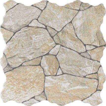 Faïence effet pierre ARRECIFE 32,5x32,5
