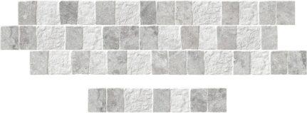 Carrelage mural effet pierre BLEND 8x44,2