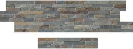Carrelage mural effet pierre CATANIA 8x45