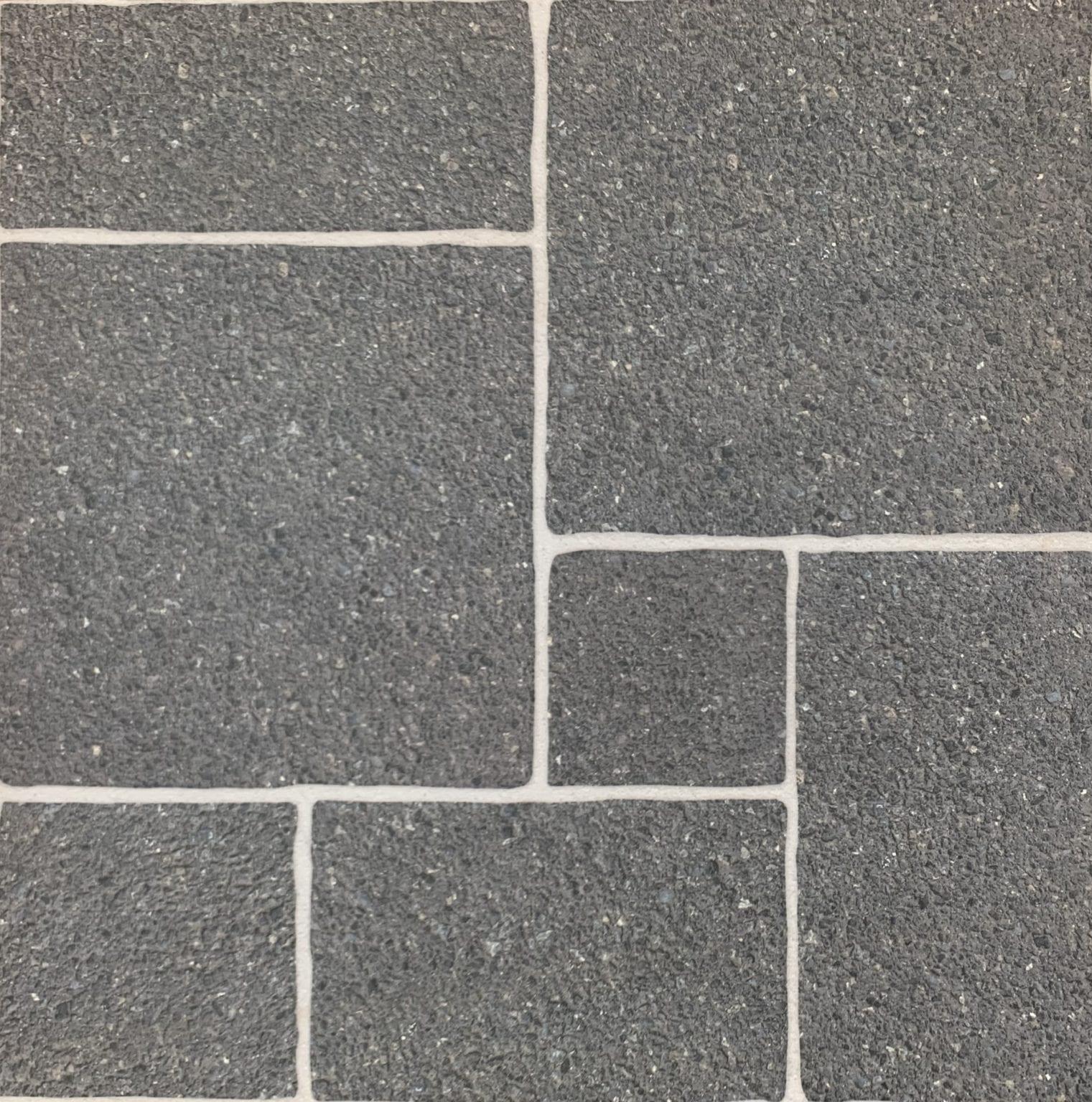 Carrelage sol effet pierre GRAVA 45x45