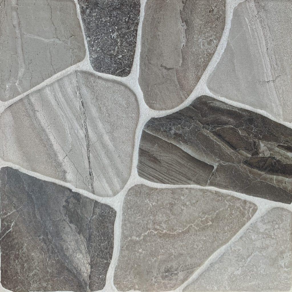 Carrelage sol effet pierre MASIA 45x45