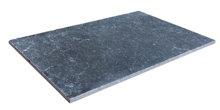 MARBRE VULCANO BLACK 40 X 60 X 1,2 CM Noir - 1er CHOIX échantillon