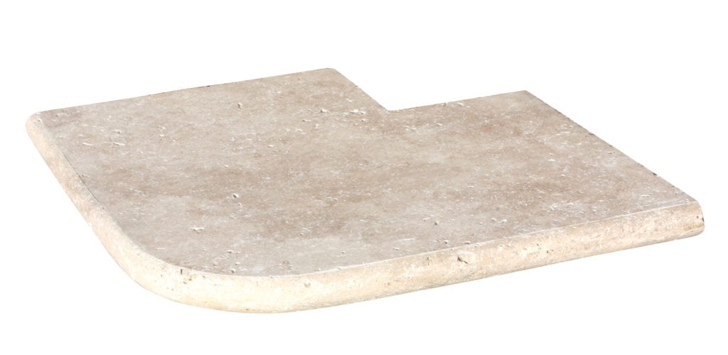 ANGLE SORTANT 1/2 ROND CLASSIC 45 X 45 X 3.2 cm