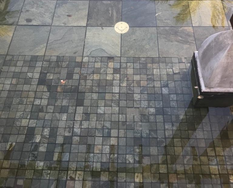 MOSAIQUE BALI GREEN 4.8x4.8 CM
