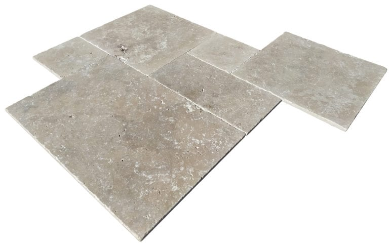 TRAVERTIN MIX OPUS 4 FORMATS X 1,2 CM -1er CHOIX