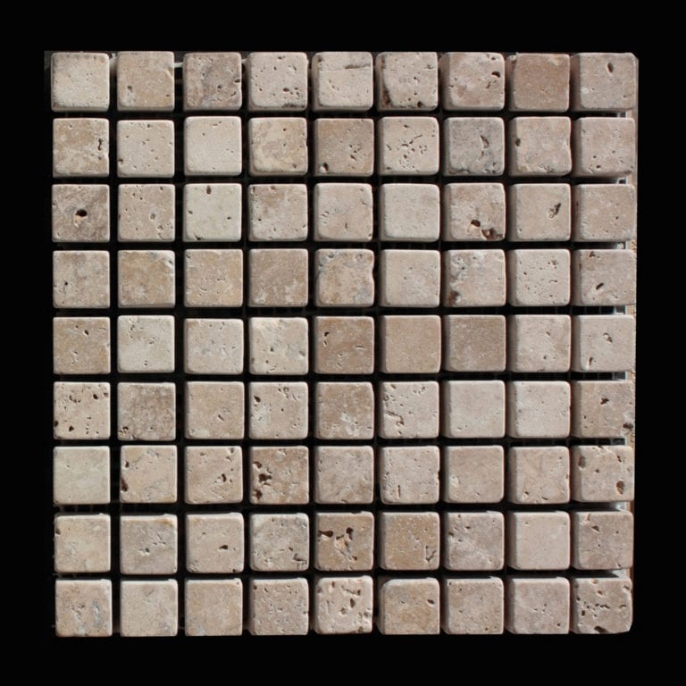 MOSAIQUE TRAVERTIN CLASSIC 1,5 x 1,5 CM