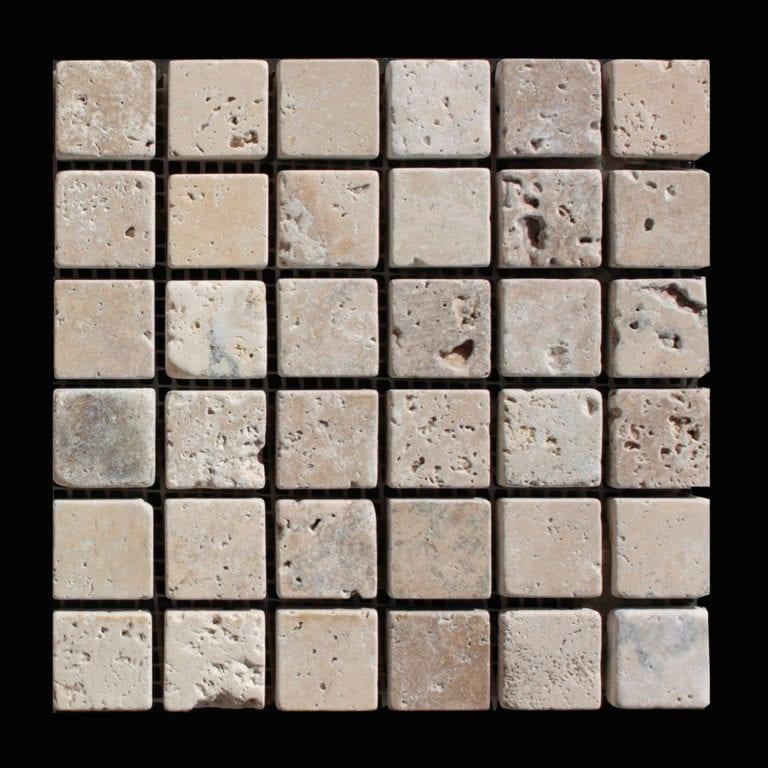 MOSAIQUE TRAVERTIN CLASSIC 2,3 x 2,3 CM