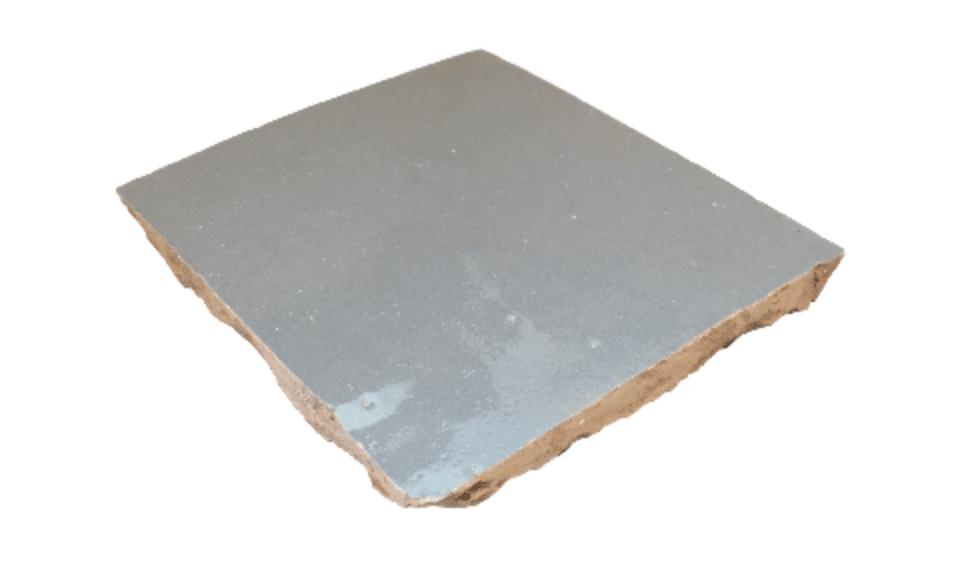 VERITABLE ZELLIGE 10 X 10 CM GRIS SOURIS