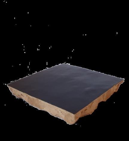 véritable zellige 10 x 10 cm marron