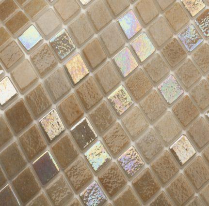 mosaique en émaux de verre 2.5 x 2.5 cm Mix Orinoco