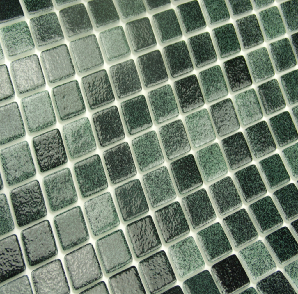 mosaique en émaux de verre 2.5 x 2.5 cm Cocos