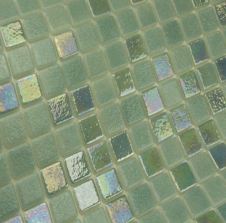 MOSAIQUE EN EMAUX DE VERRE 2.5 x 2.5 CM CHAVON