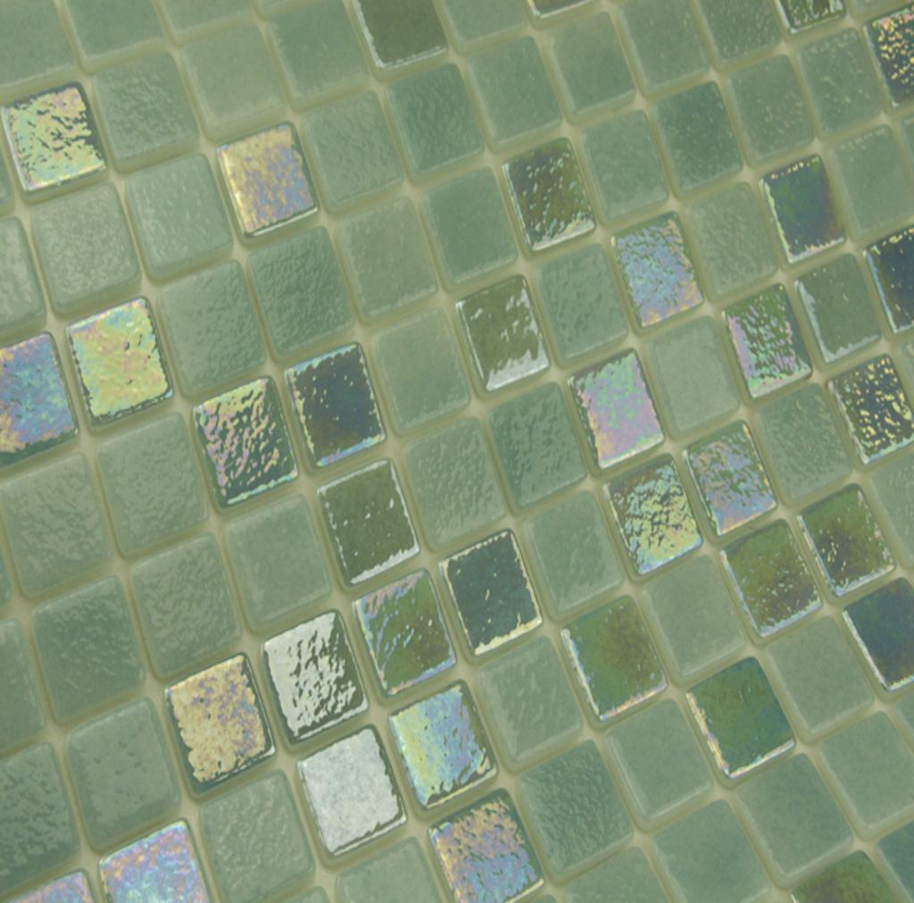 mosaique en émaux de verre 2.5 x 2.5 cm Chavon