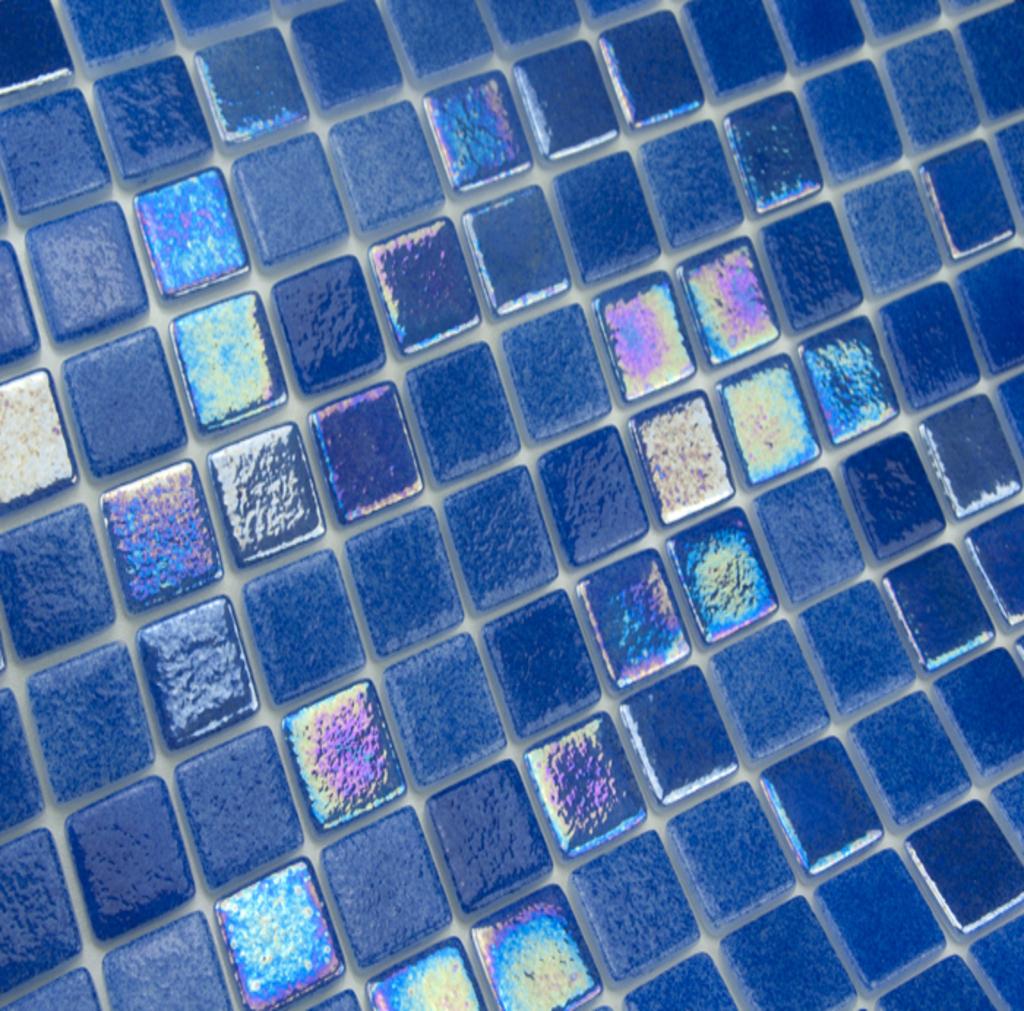 mosaique en émaux de verre 2.5 x 2.5 cm deba
