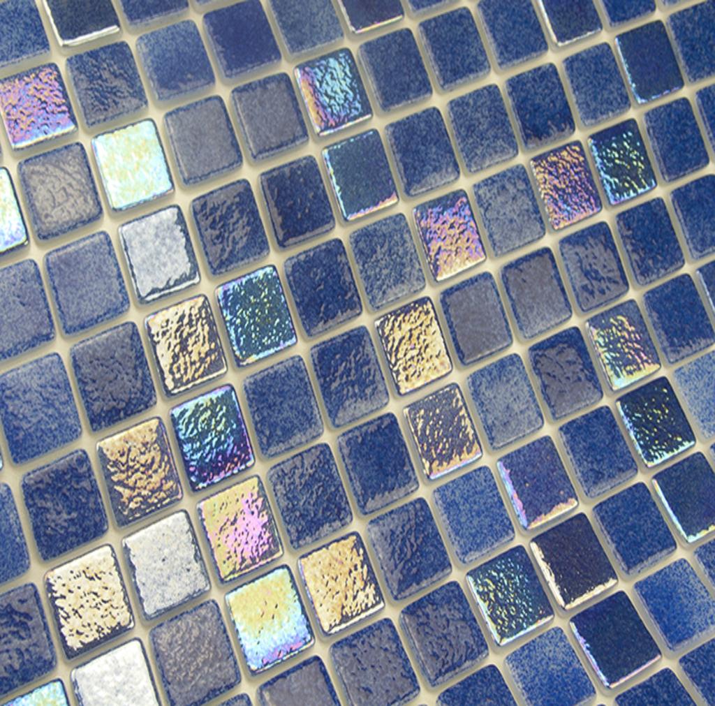 mosaique en émaux de verre 2.5 x 2.5 cm Urola