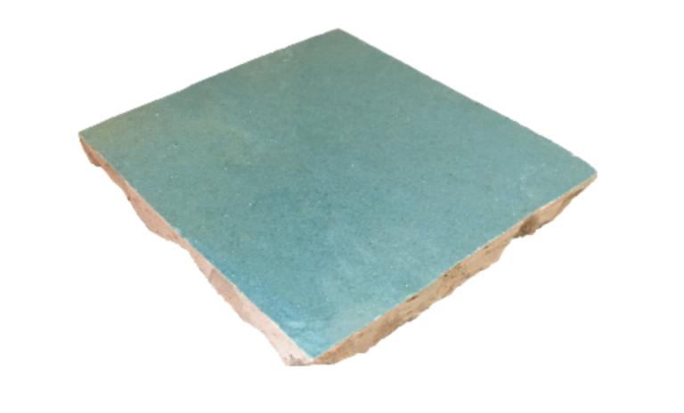 VERITABLE ZELLIGE 10 X 10 CM SAINTE CROIX échantillon