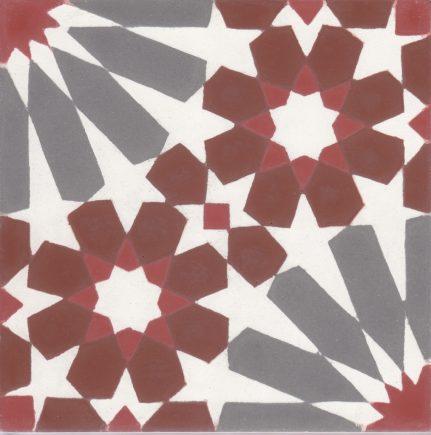 Véritable carreau ciment 20 x 20 cm Maurine