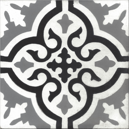Véritable carreau ciment 20 x 20 cm jessica