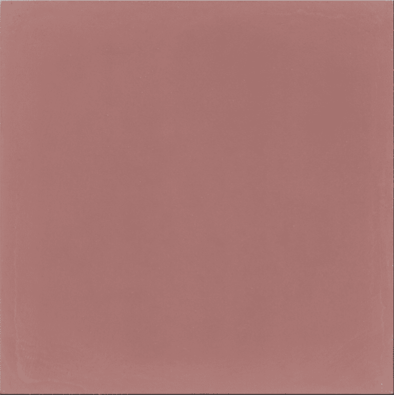VERITABLE CARREAU CIMENT 20 x 20 CM ROSE