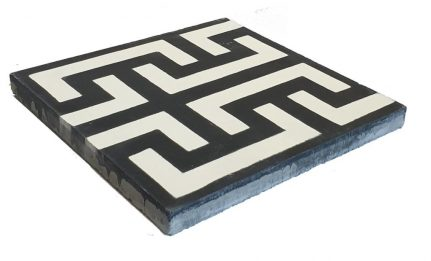 Véritable carreau ciment 20 x 20 cm Alice