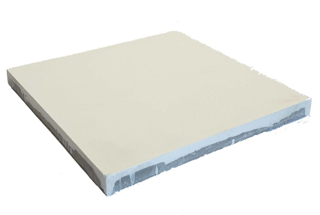 Véritable carreau ciment 20 x 20 cm blanc