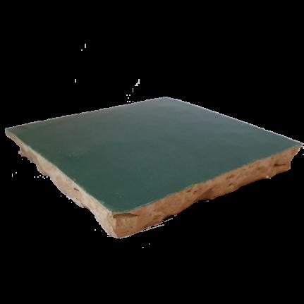 véritable zellige 10 x 10 cm vert émeraude