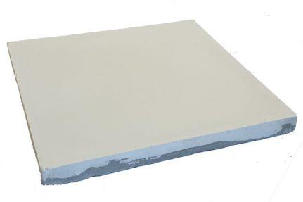 VERITABLE CARREAU CIMENT 20 x 20 CM GRIS CLAIR
