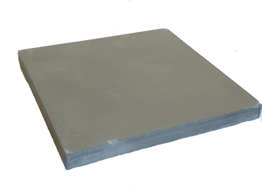 VERITABLE CARREAU CIMENT 20 x 20 CM GRIS FONCE