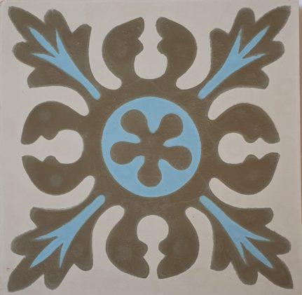 Véritable carreau ciment 20 x 20 cm Manon