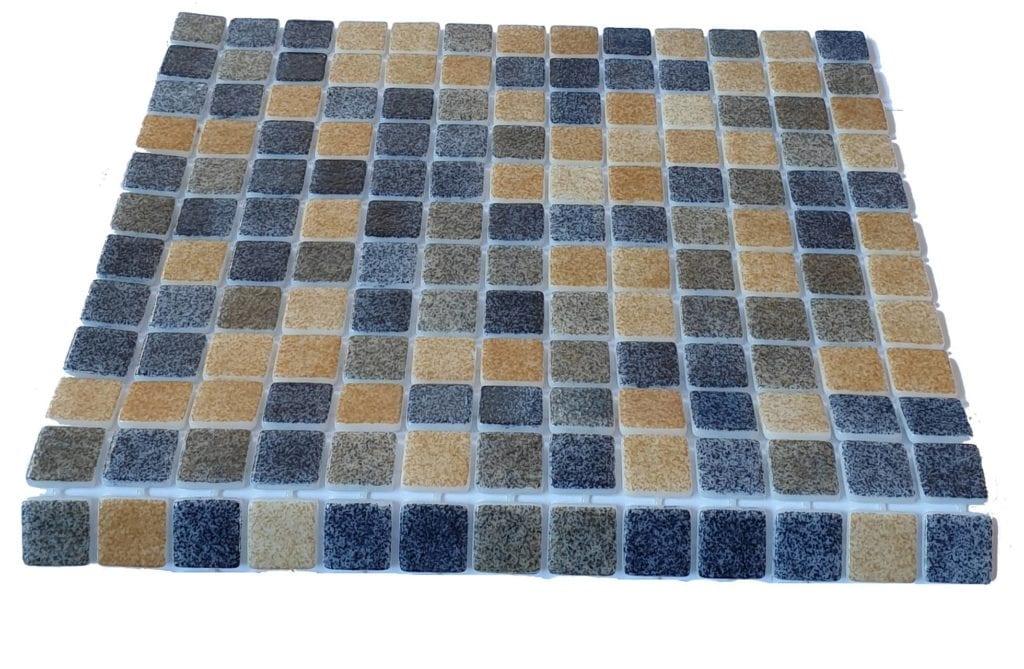 mosaique en émaux de verre 2,5 x 2,5 cm Sand Stone