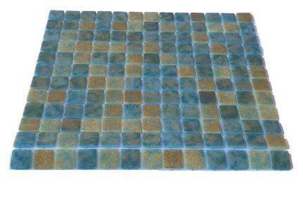 mosaique en émaux de verre 2,5 x 2,5 cm Sandy Bali