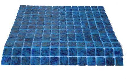 mosaique en émaux de verre 2,5 x 2,5 cm Zafiro