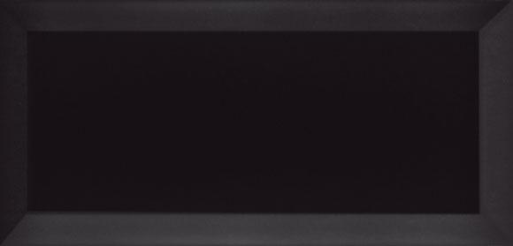 CARREAUX METRO BRILLANT 10x20 BLANC ET NOIR