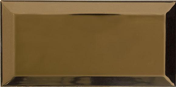 CARREAUX METRO BRILLANT 10x20 OR ET ARGENT