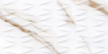 Carrelage d'exception effet marbre DECO CALACATTA GOLD 45x90