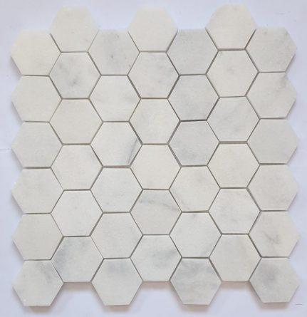 Mosaïque Hexagone Marbre 30x30
