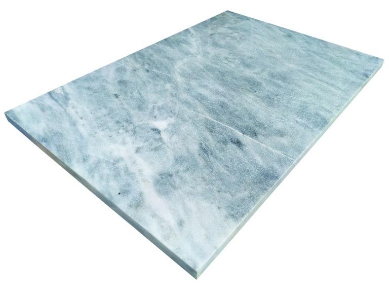 MARBRE SKYLINE BLUE SABLE BROSSE 40.6 X61 X 2 CM BLEU - 1er CHOIX