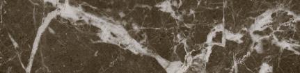 carrelage métro effet marbre noir