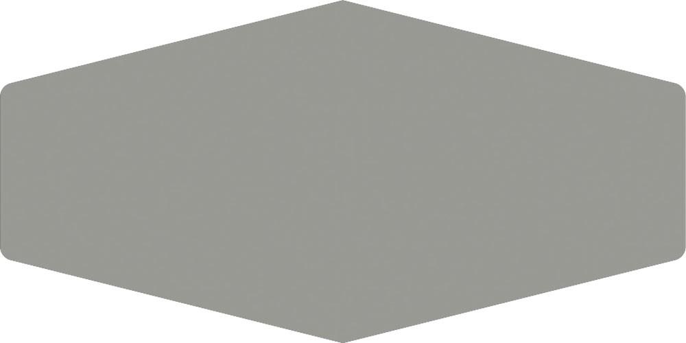Faïence unie hexagone MONOCHROME 10x20